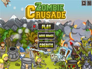 zombie crusade tower defense game